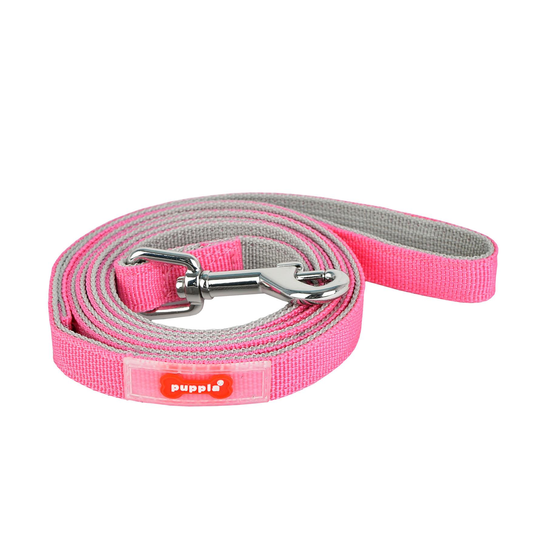 Sport Dog Leash by Puppia - Pink and Gray