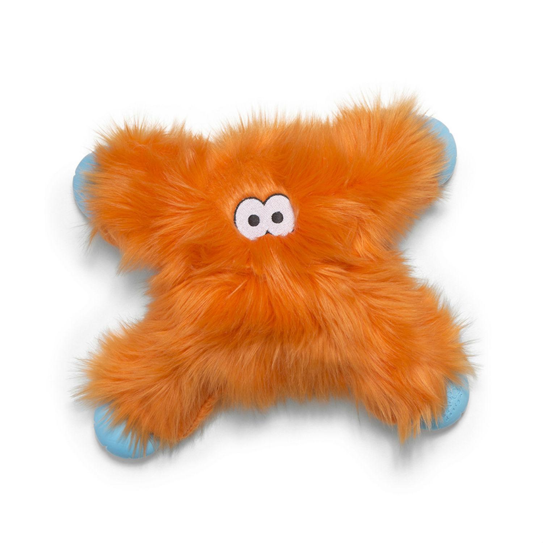Rowdies Lincoln Dog Toy by West Paw - Orange