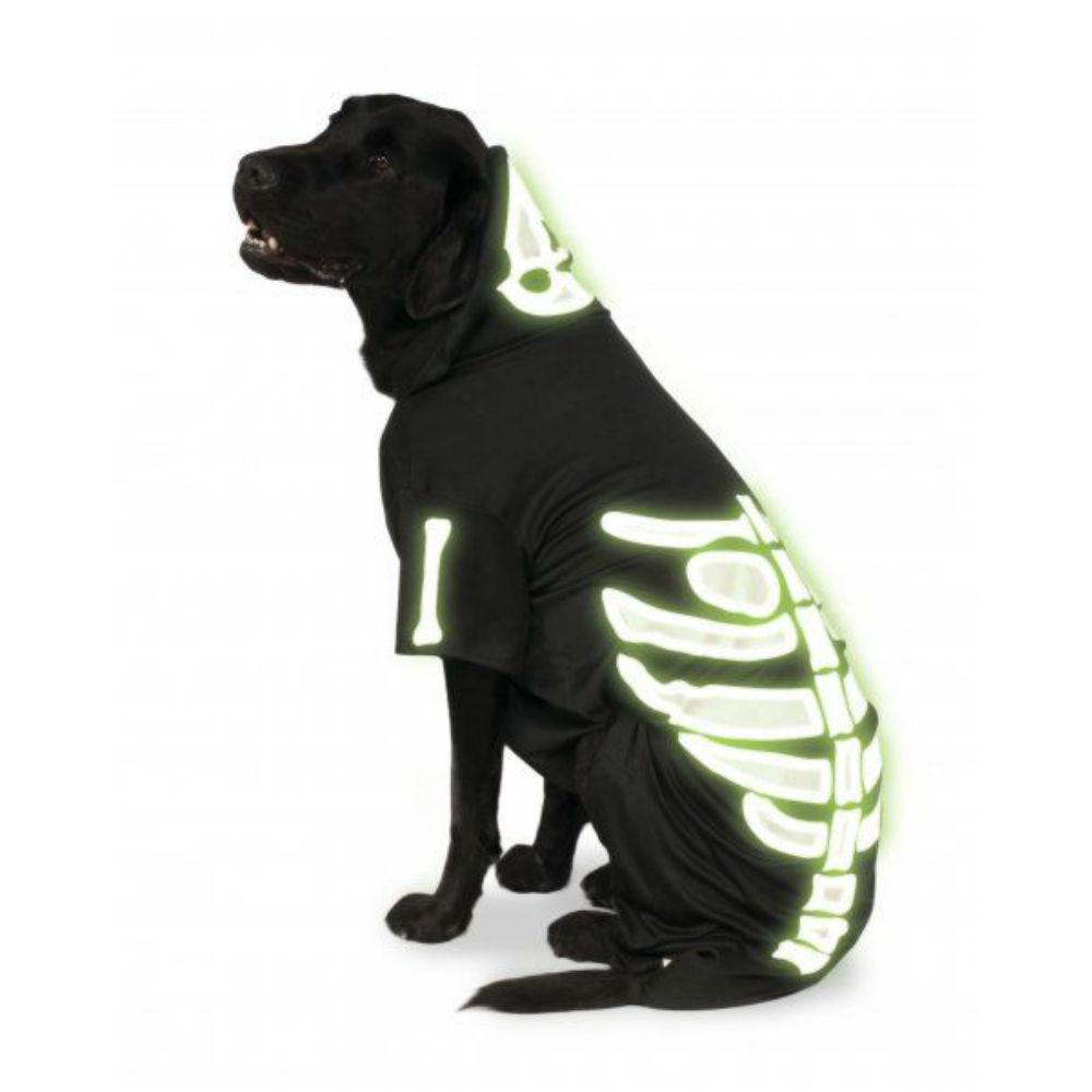 Rubies Big Dog Glow In The Dark Skeleton Dog Baxterboo