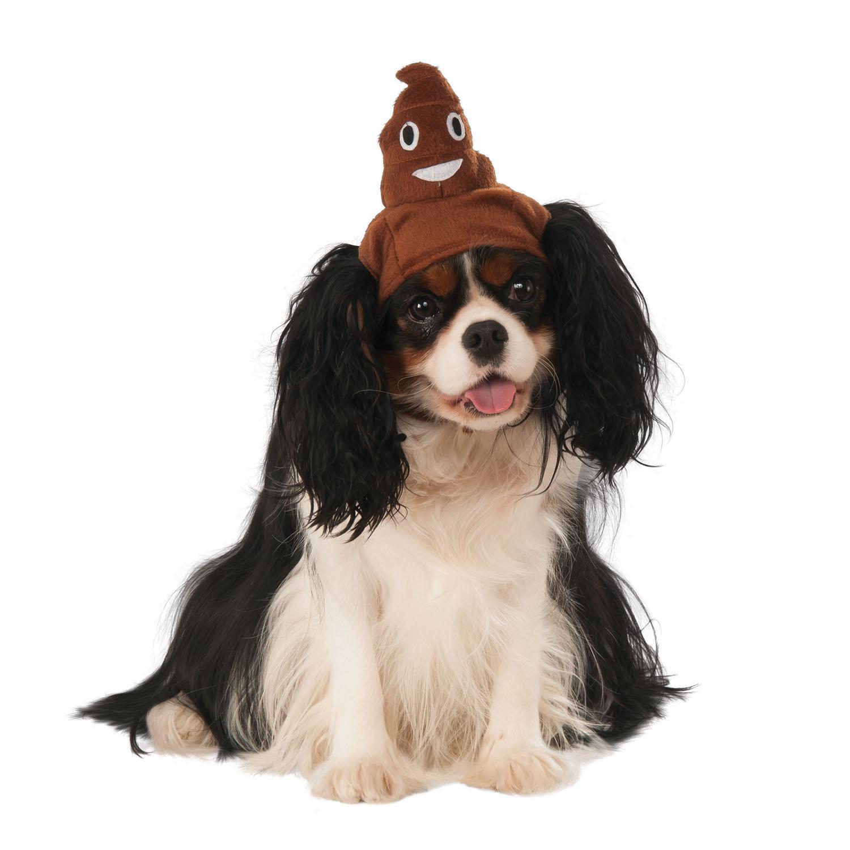 Rubie's Poop Emoji Pet Hat Dog Costume