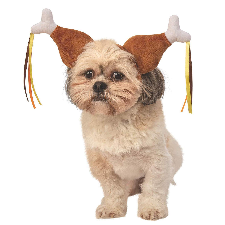 Rubie's Turkey Leg Boppers Dog Costume Headpiece