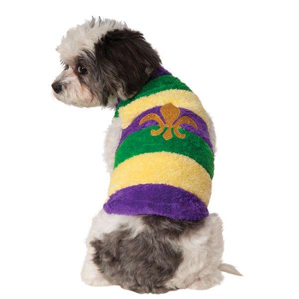 Rubie's Mardi Gras Dog Sweater