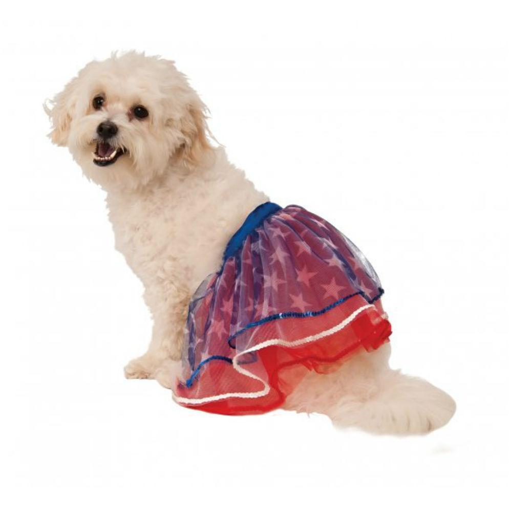 Rubies Patriotic Dog Tutu