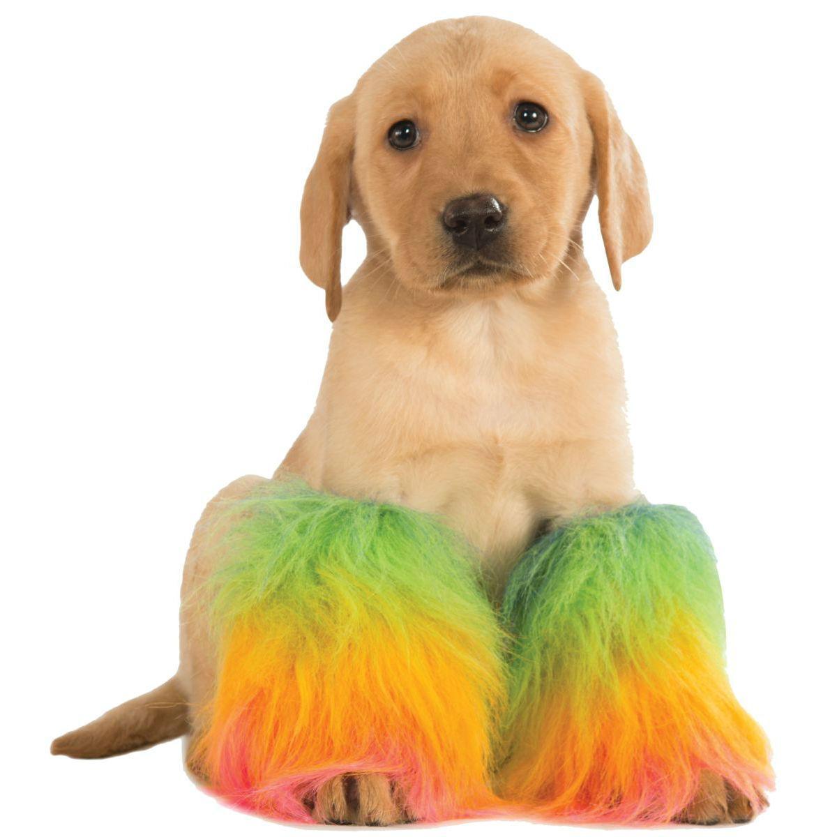Rubies Rainbow Fluffies Dog Costume