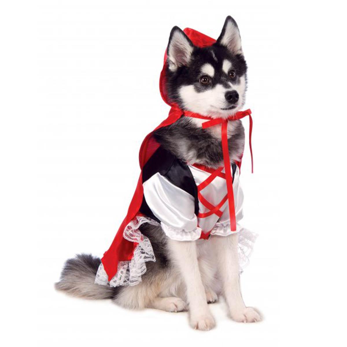 Rubieu0027s Red Riding Hood Dog Costume  sc 1 st  BaxterBoo & Rubieu0027s Red Riding Hood Dog Costume with Same Day Shipping | BaxterBoo