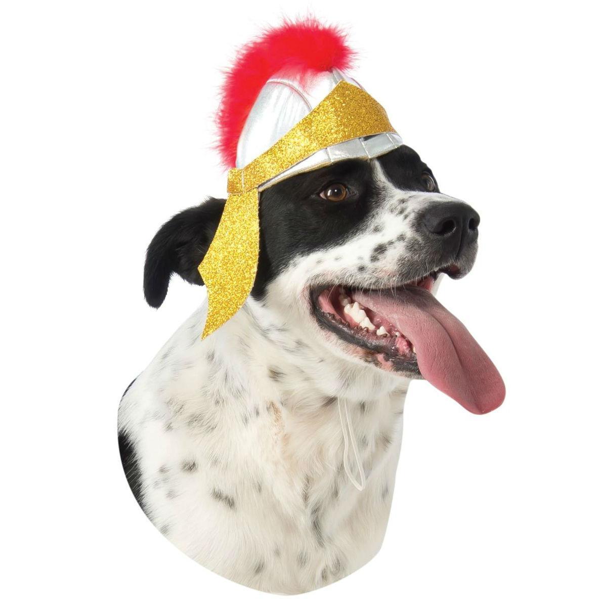 Rubies Roman Helmet Dog Costume