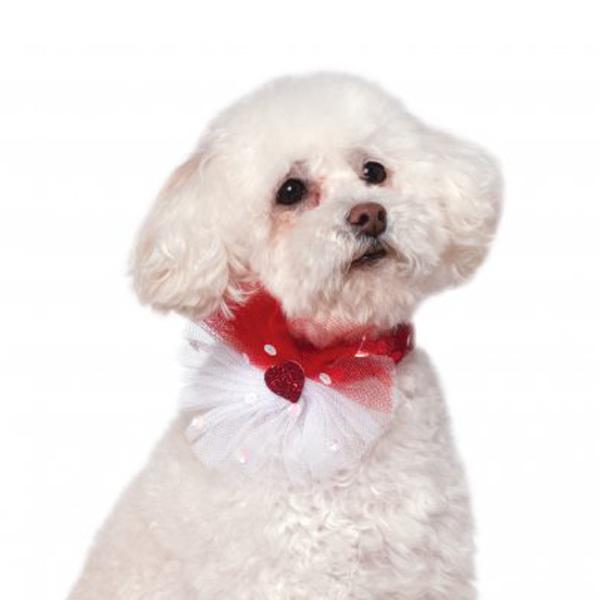 Rubie's Valentine's Day Sequin Dog Necklace