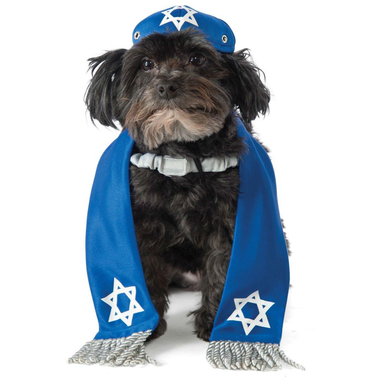 Rubies Yarmulke and Tallis Dog Costume