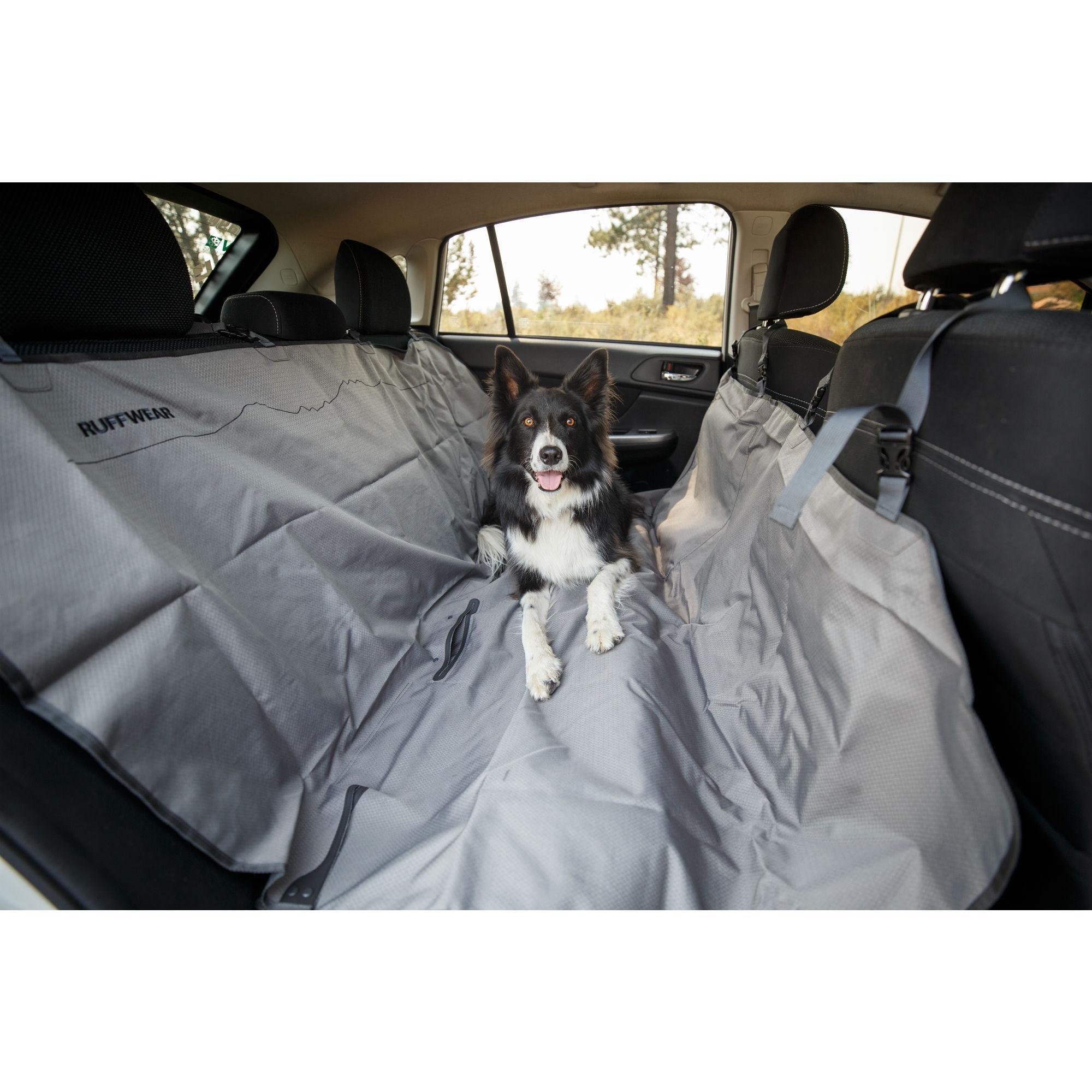 Dirtbag Seat Cover by RuffWear - Granite Gray