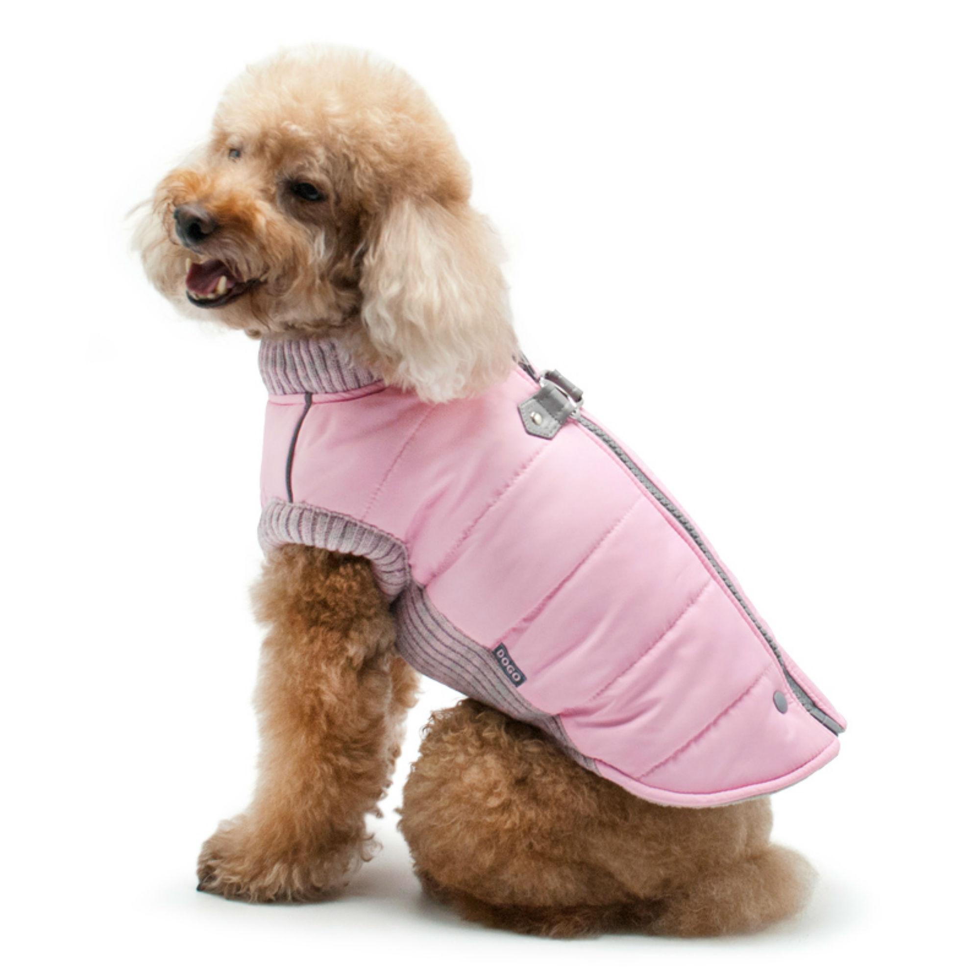 Runner Dog Coat by Dogo - Pink