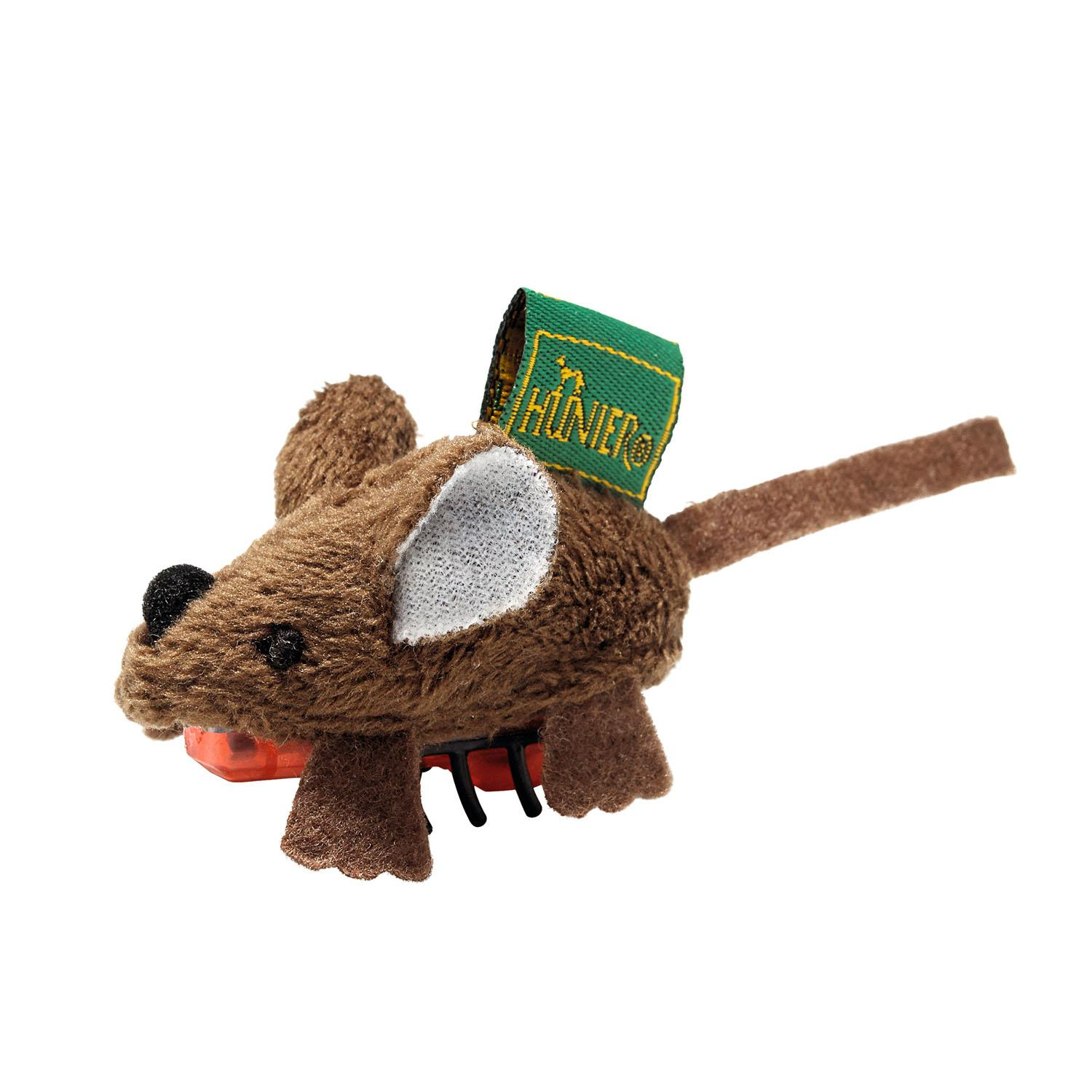 HUNTER Running Mouse Cat Toy - Brown