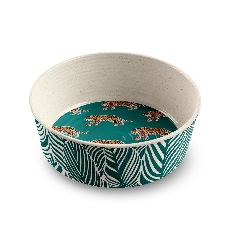 Safari Dog Bowl by Tarhong - Tiger