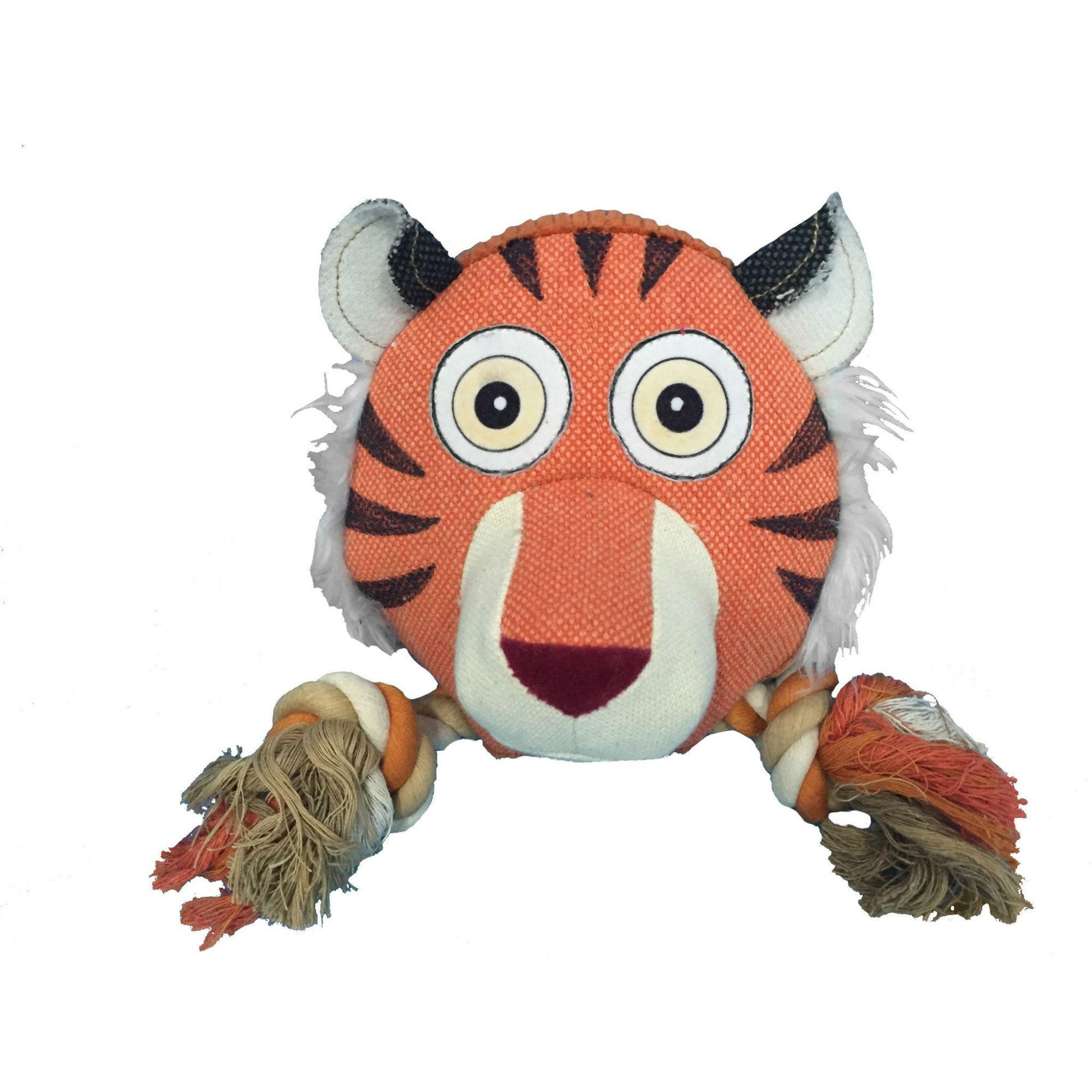 Safari Rope Dog Toy - Tiger