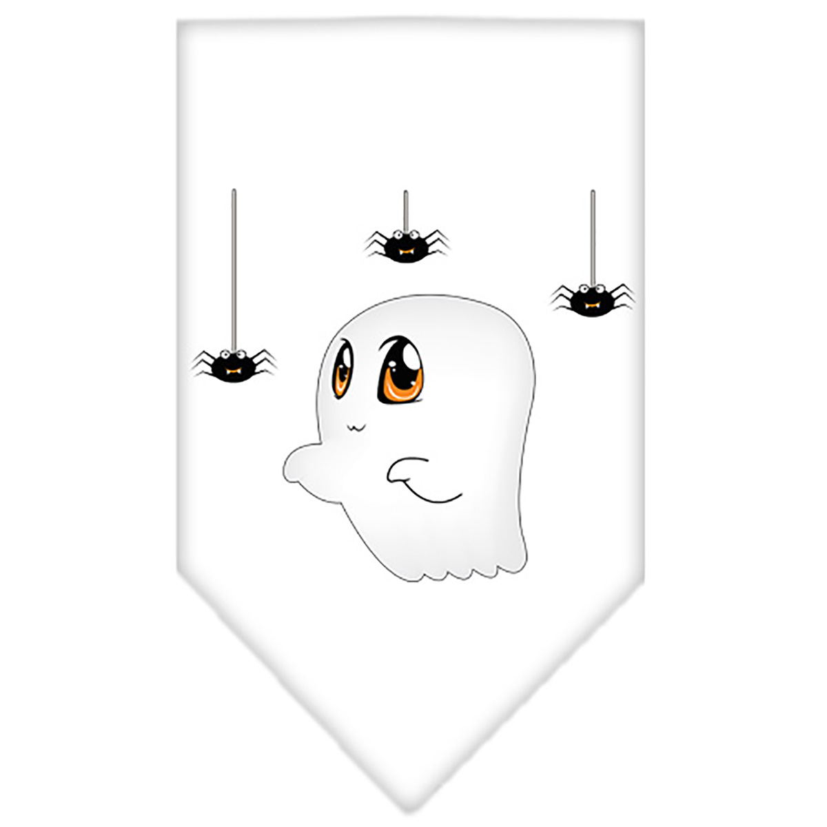 Sammy the Ghost Dog Bandana - White