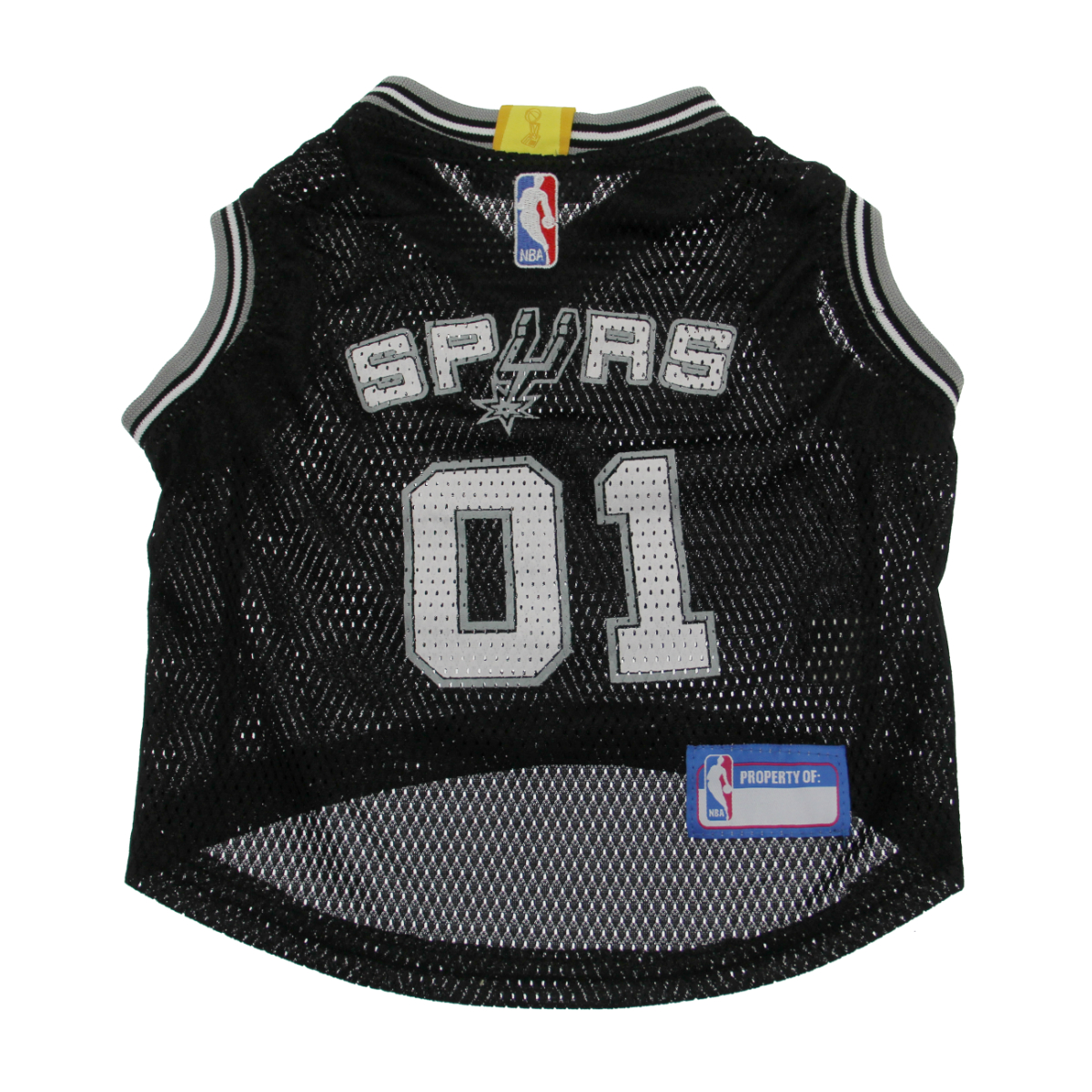 best sneakers 5b7f4 999a8 San Antonio Spurs Dog Jersey - Black