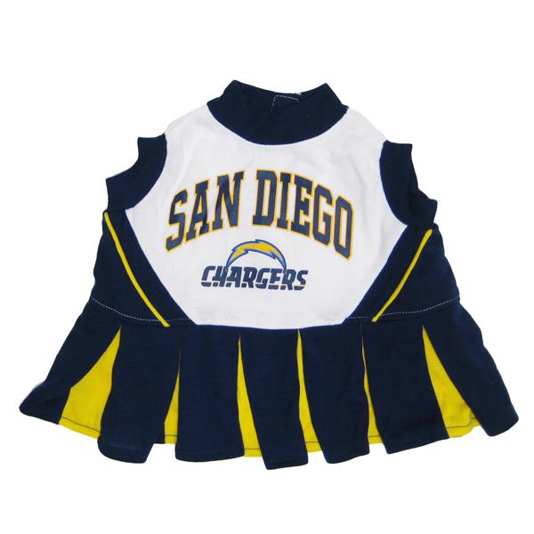 San Diego Chargers Cheerleader Dog Dress