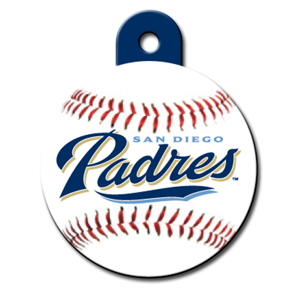 San Diego Padres Engravable Pet I.D. Tag