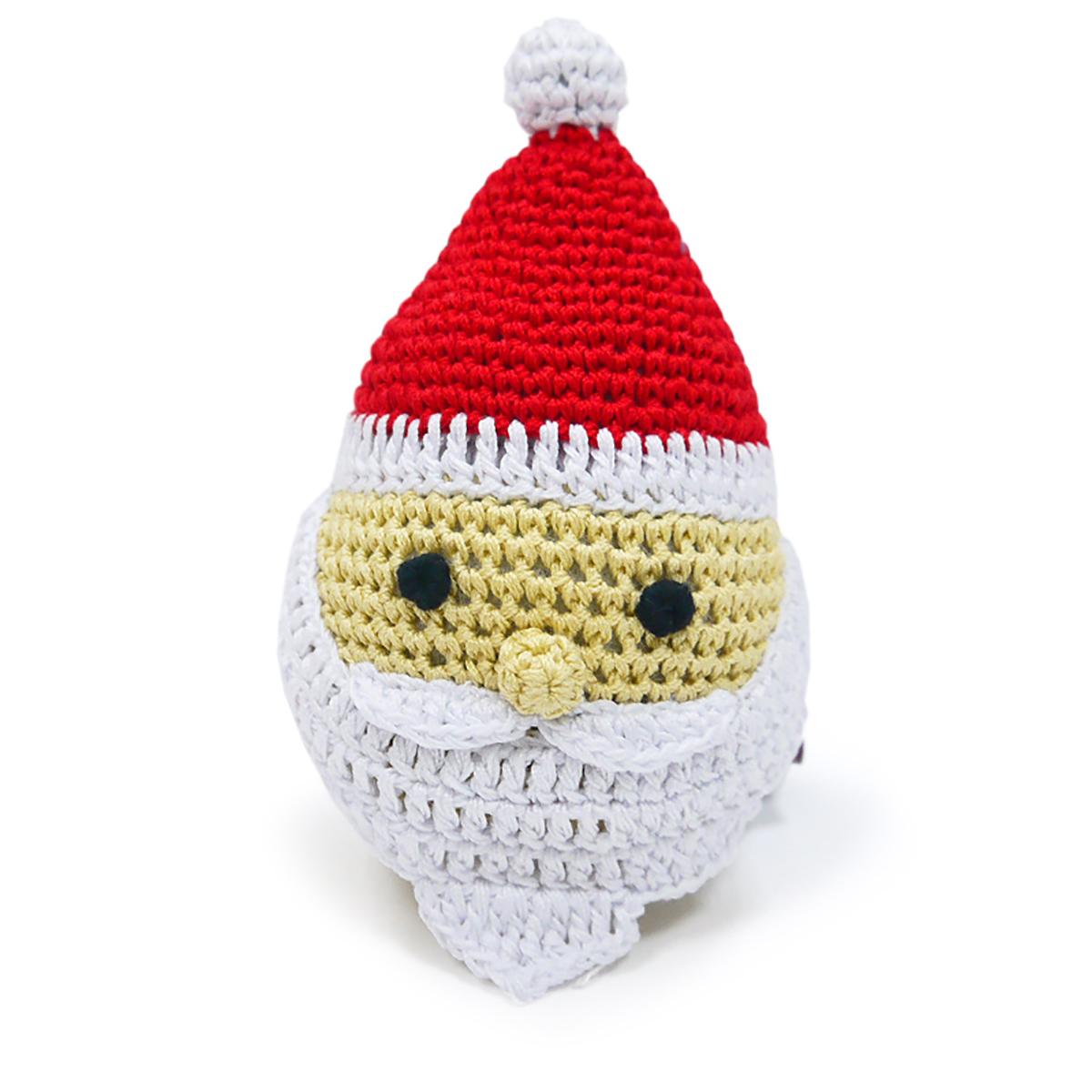 Santa Crochet Dog Toy by Dogo