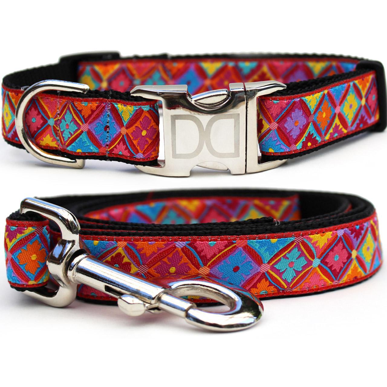 Bali Breeze Dog Collar and Leash Set by Diva Dog