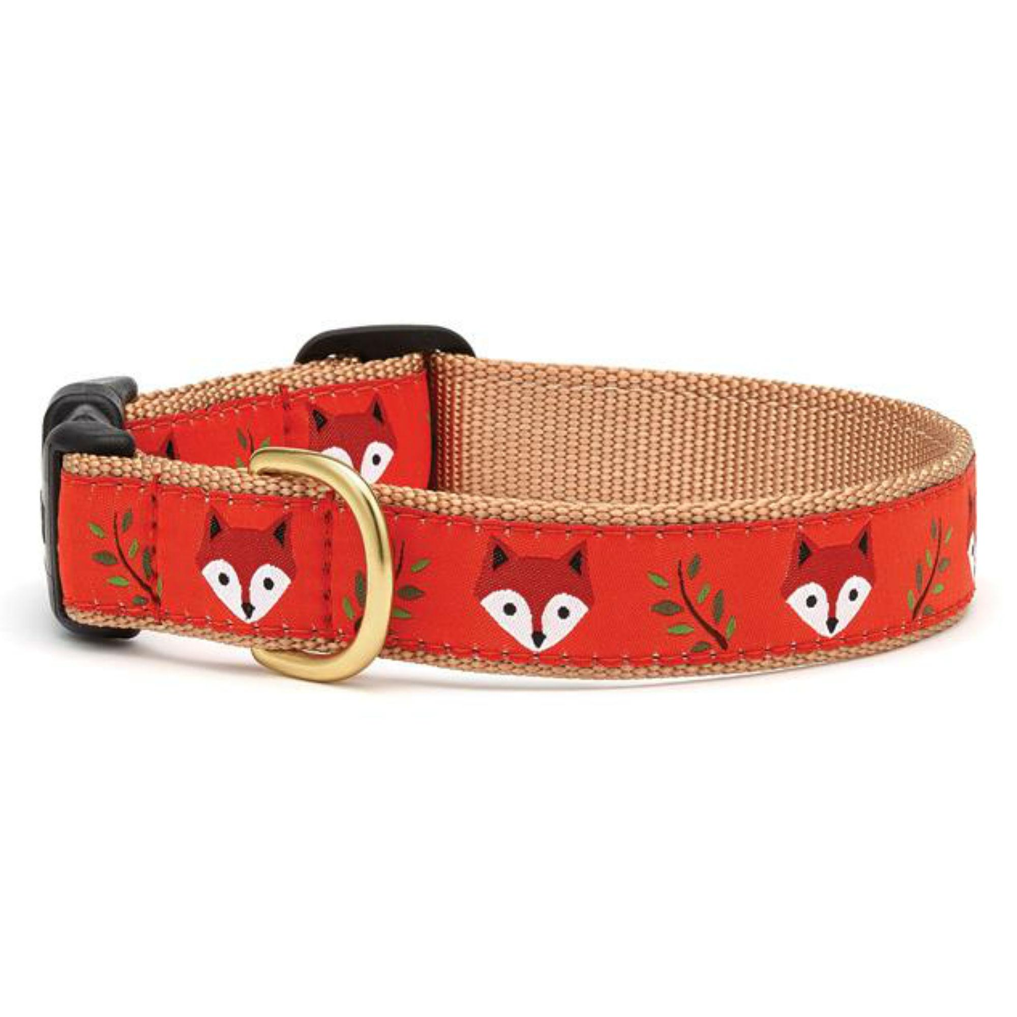 Foxy Dog Collar by Up Country