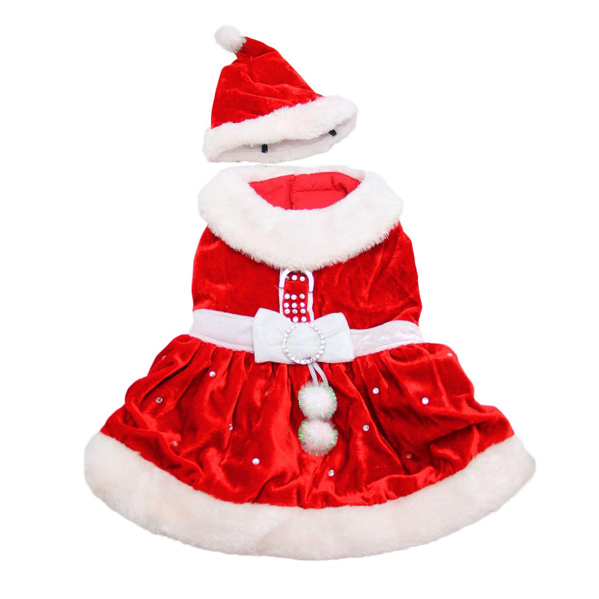 Santa Paws Dog Dress