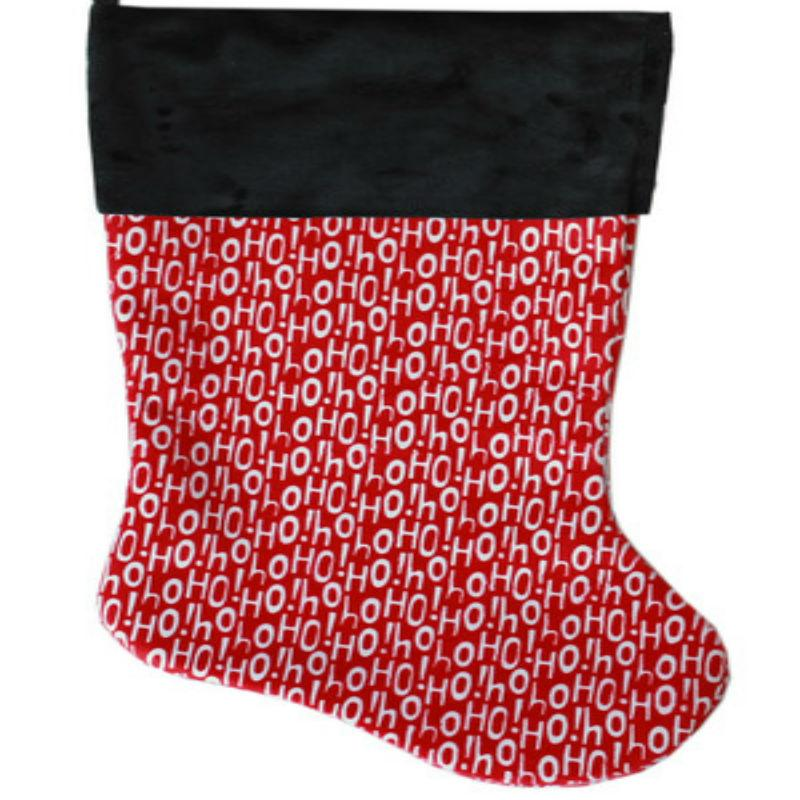 Santa Says Pet Christmas Stocking
