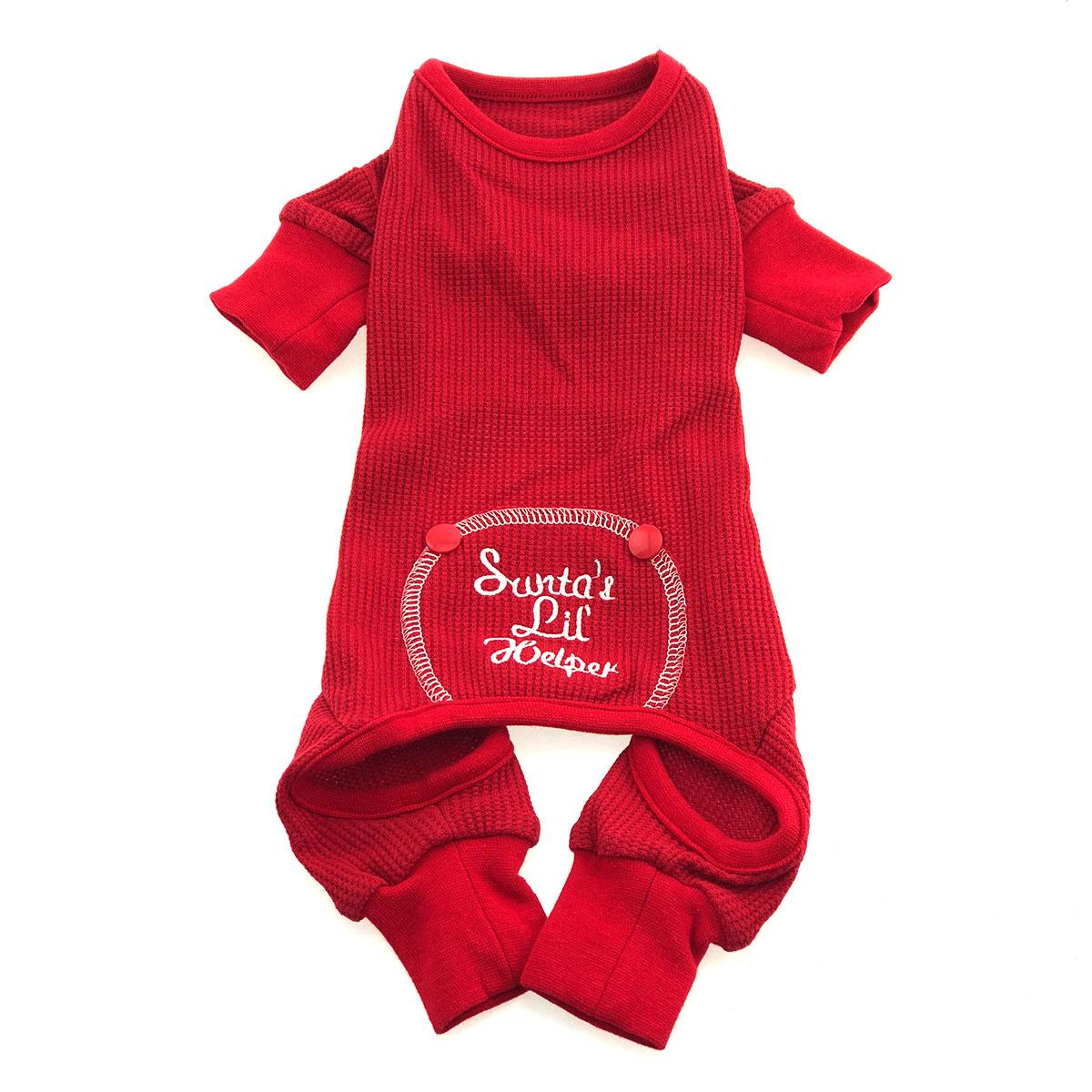 Santa's Lil Helper Dog Pajamas by Doggie Design