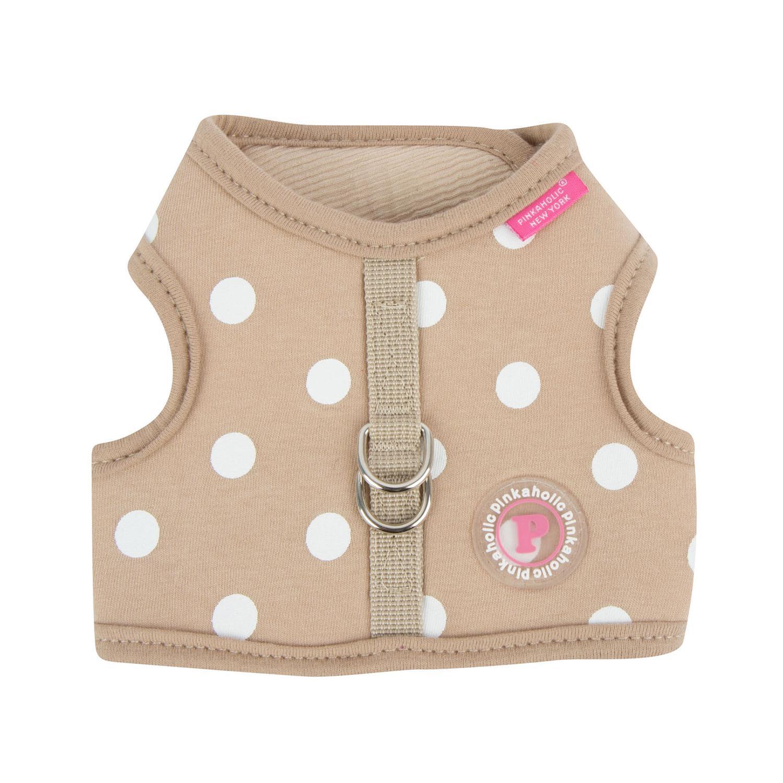 Sassa Dog Harness Vest by Pinkaholic - Beige