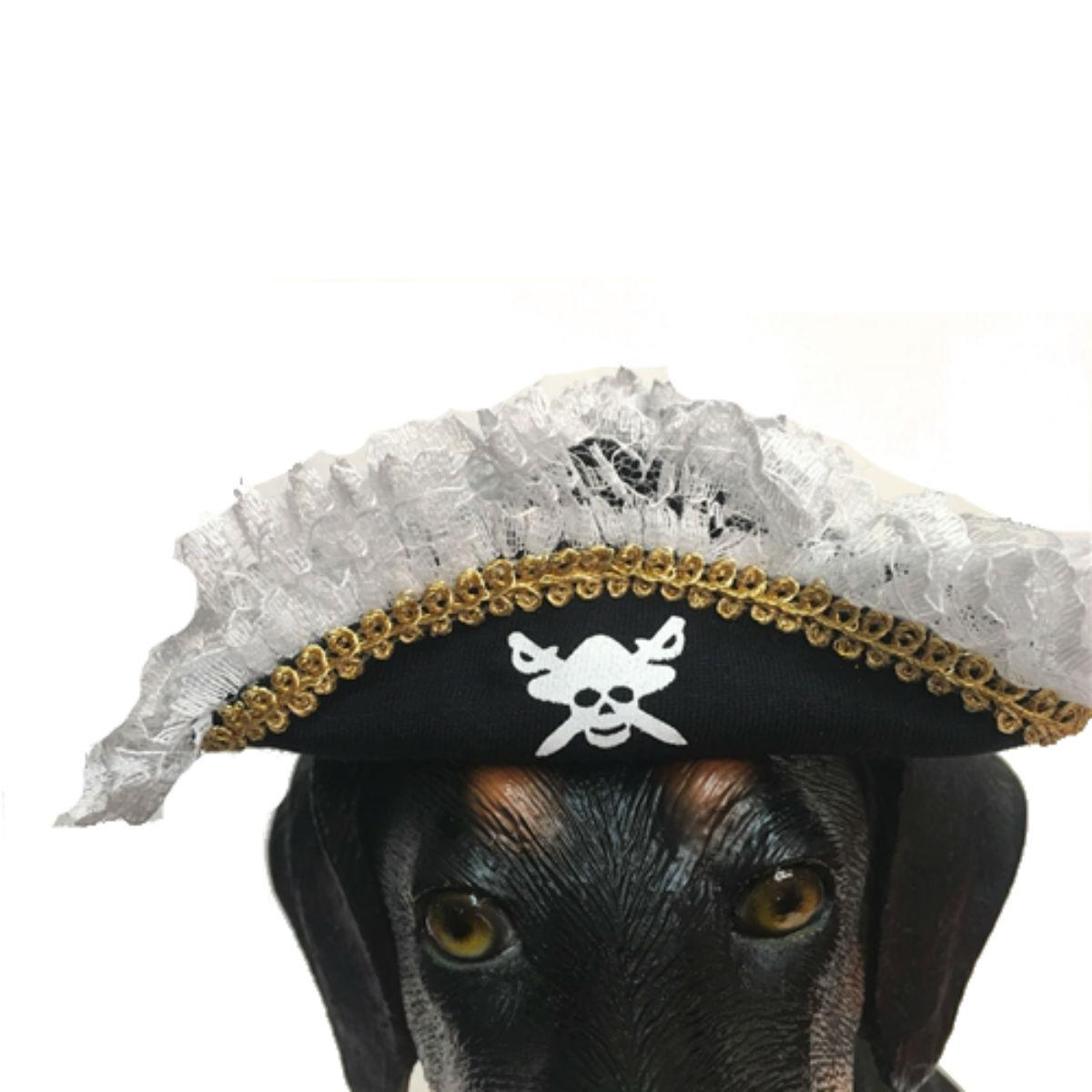 Scallywag Pirate Hat Costume