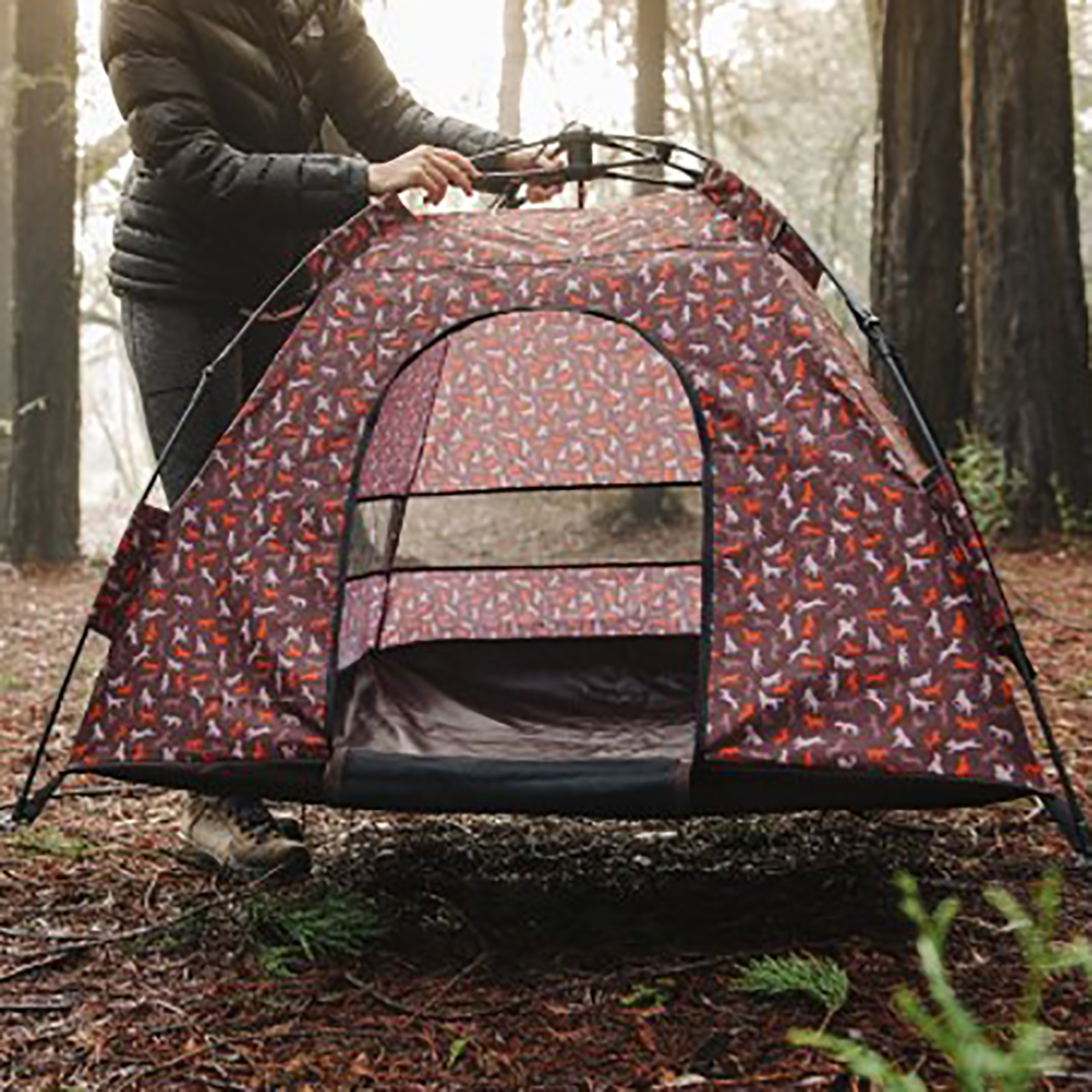 Scout and About Outdoor Dog Tent - Mocha with Same Day Shipping | BaxterBoo & Scout and About Outdoor Dog Tent - Mocha with Same Day Shipping ...