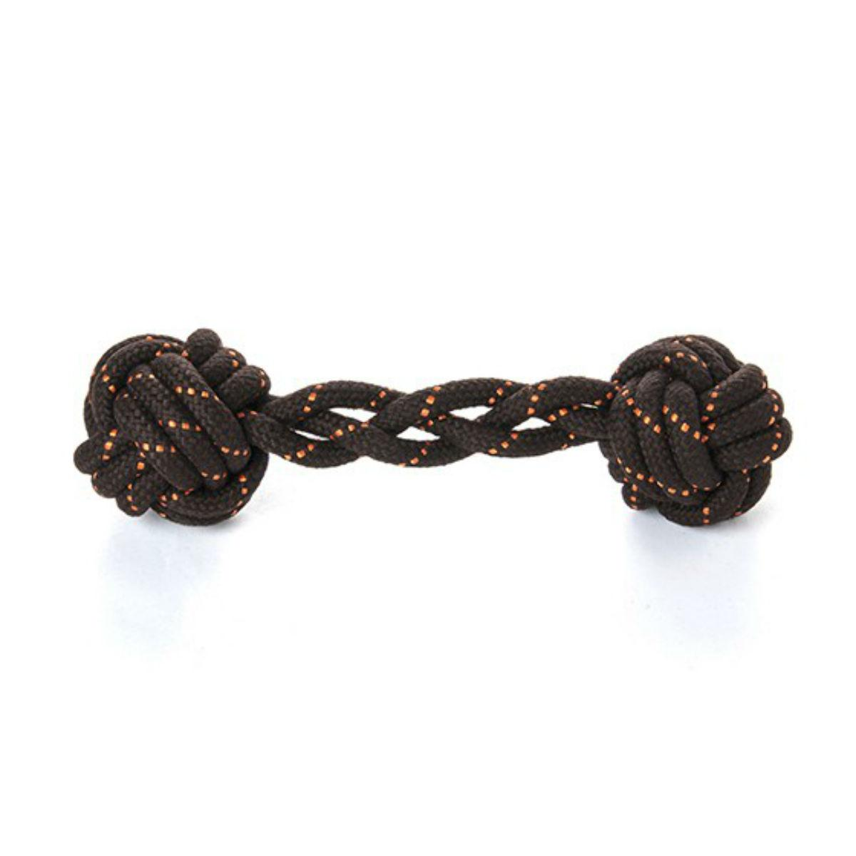 Scout and About Barbell Rope Dog Toy