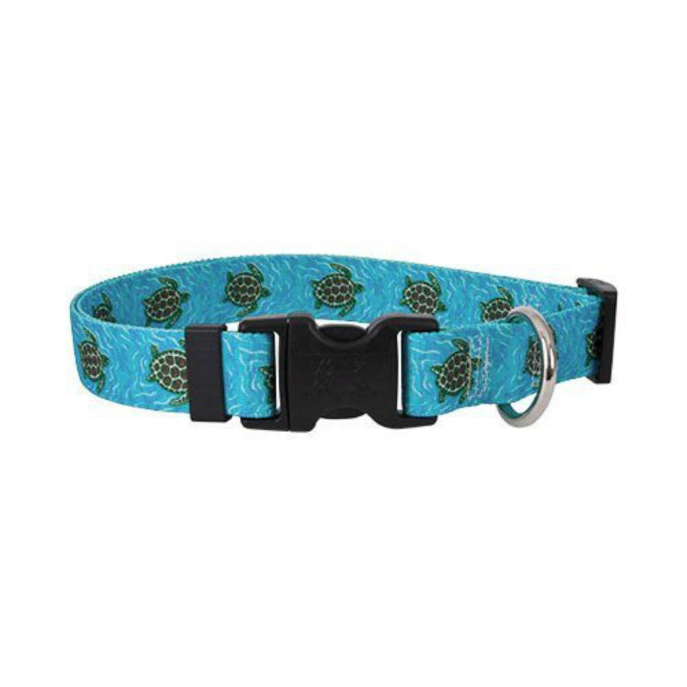 Sea Turtles Dog Collar by Yellow Dog