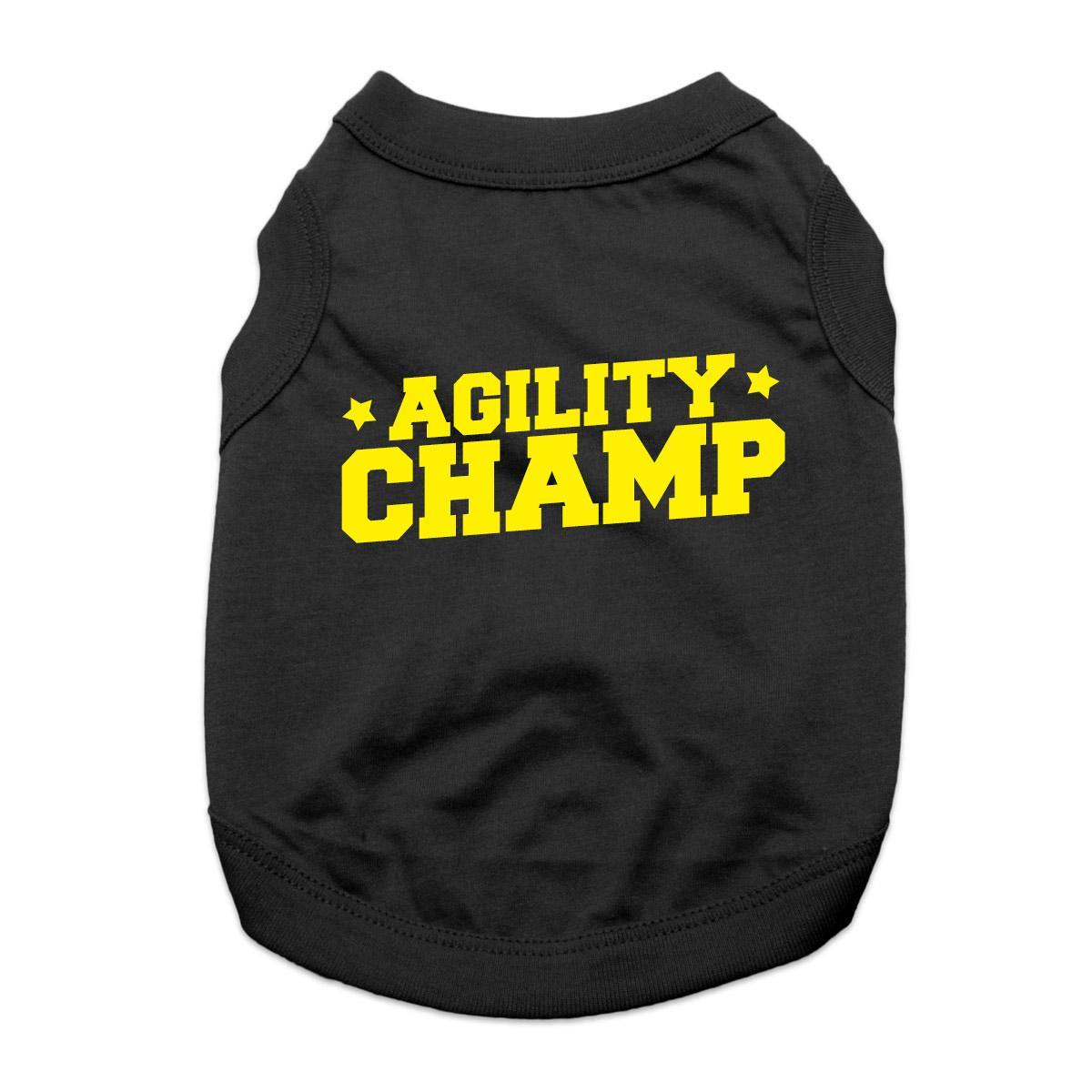 Agility Champ Dog Shirt - Black