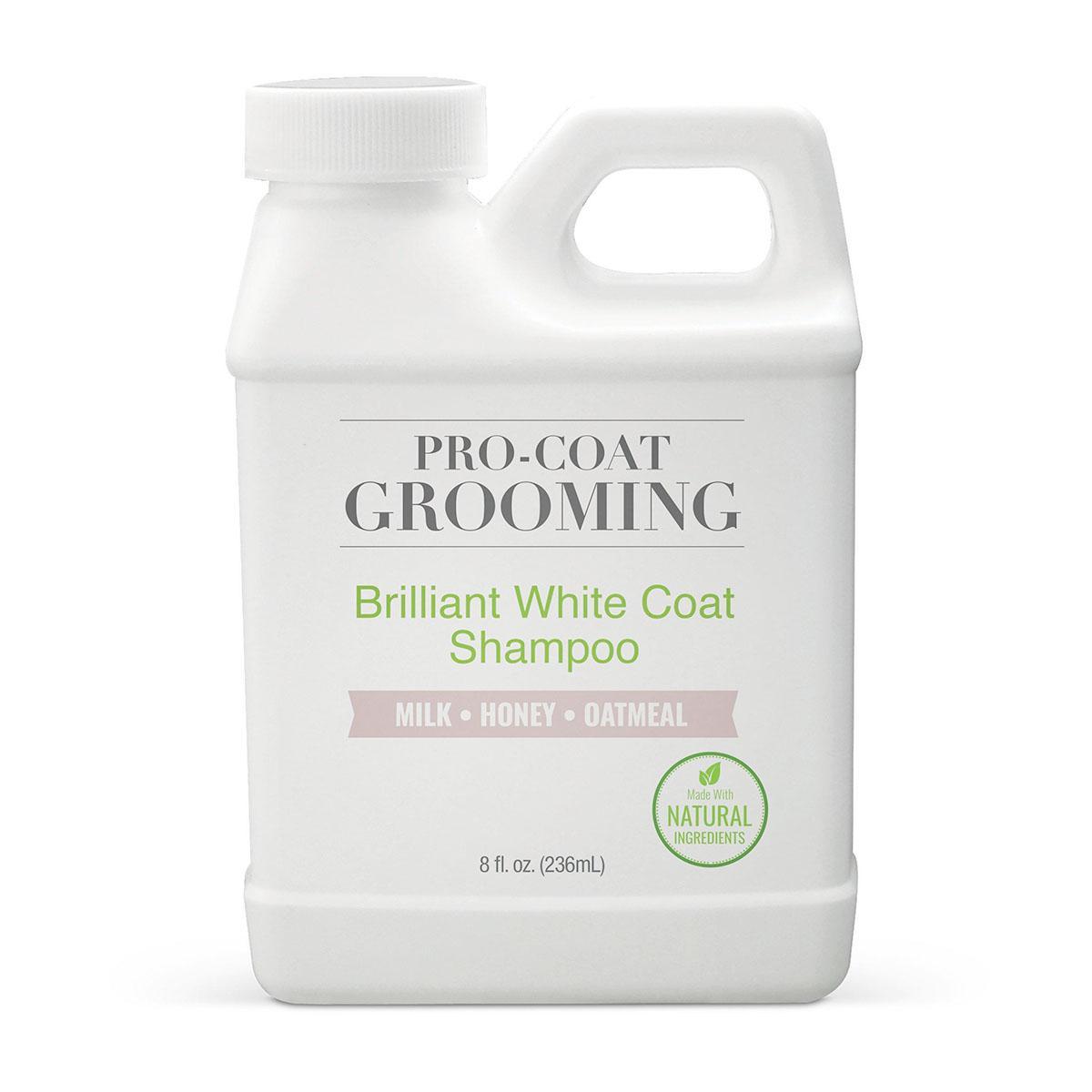 Pure and Natural Pet Pro-Coat Self-Wash Brilliant White Coat Dog Shampoo - Milk, Honey & Green Tea Extract
