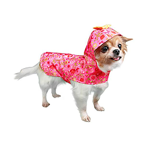 Serena Dog Raincoat by Pooch Outfitters - Pink