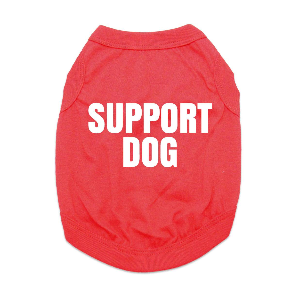 Support Dog Shirt - Red