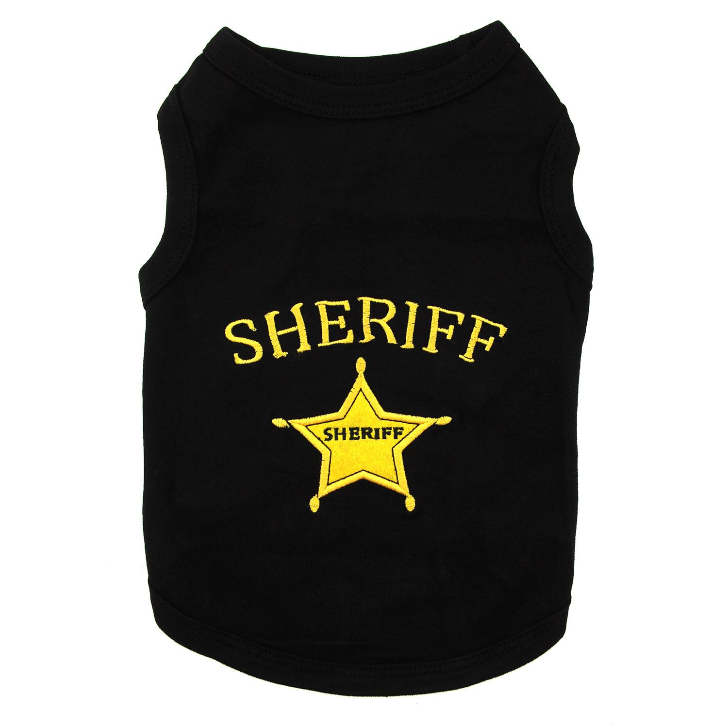Sheriff Dog Tank by Parisian Pet
