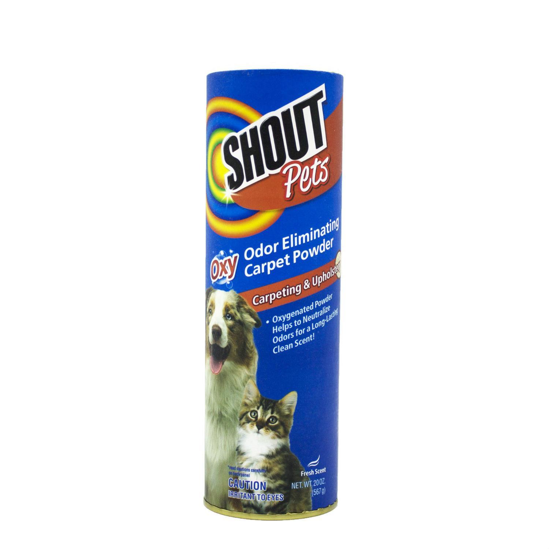 Shout for Pets Turbo Oxy Carpet Odor Eliminator Powder