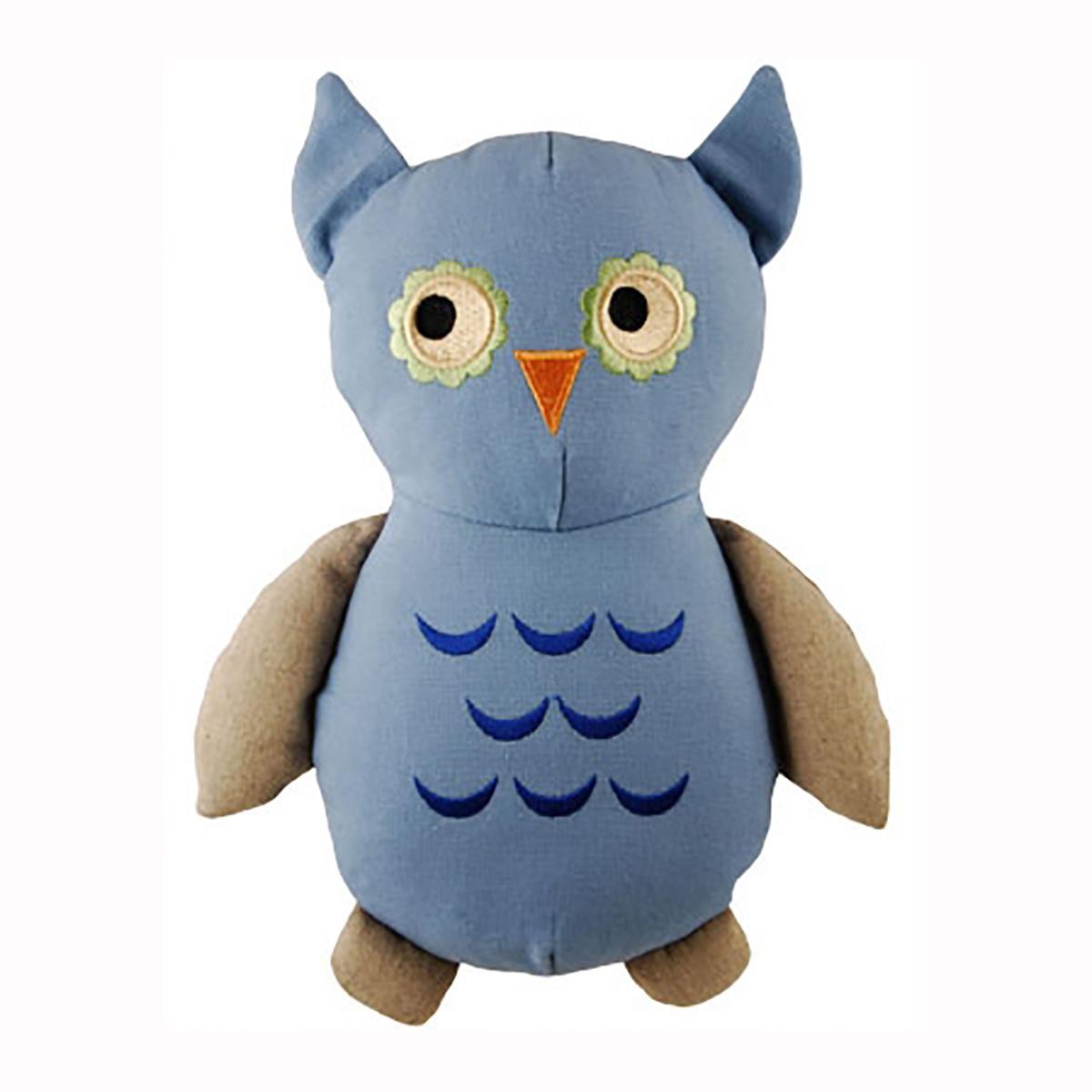 Simply Fido Owl Dog Toy - Basic Big Joe Owl