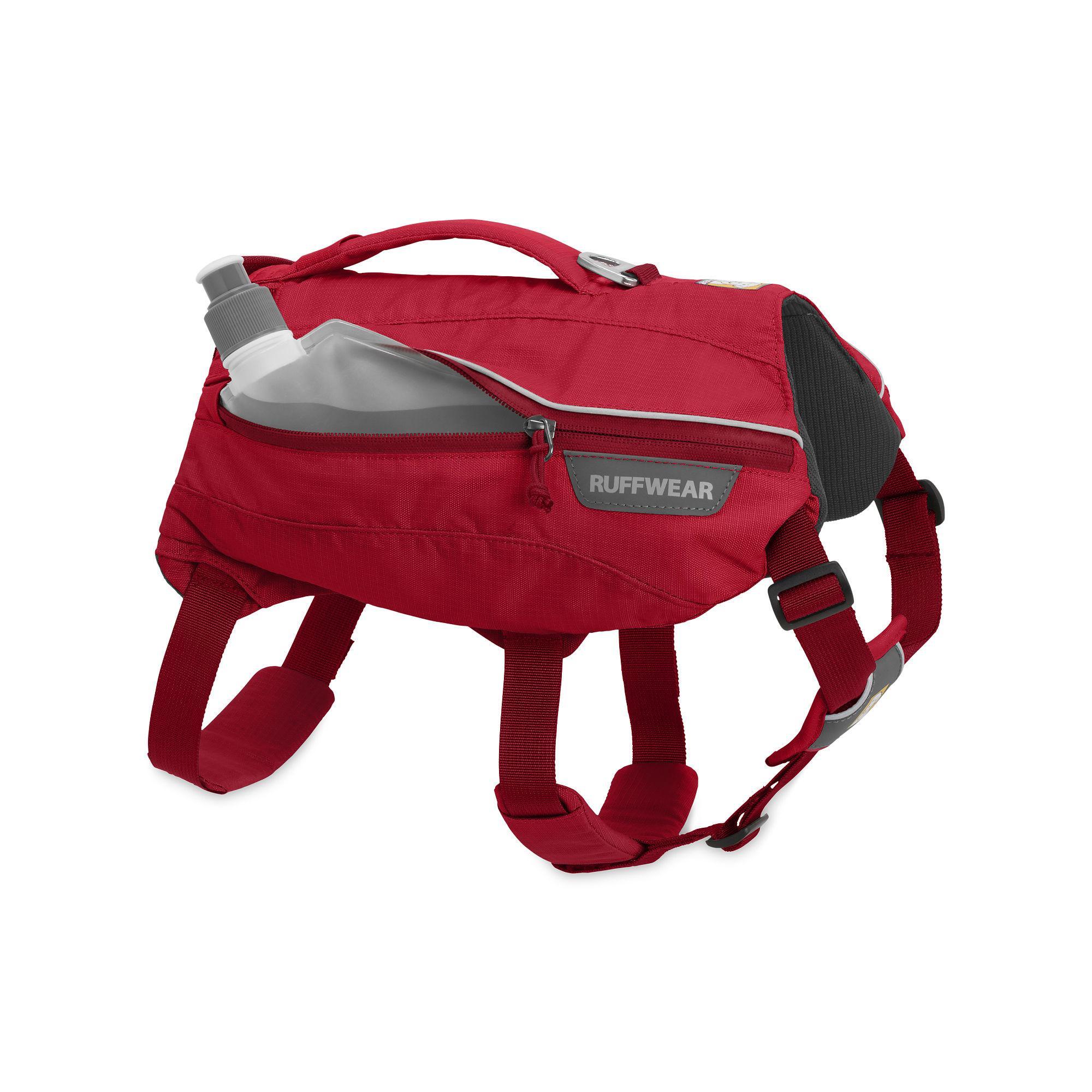 Singletrak Hydration Dog Pack by RuffWear - Red Currant