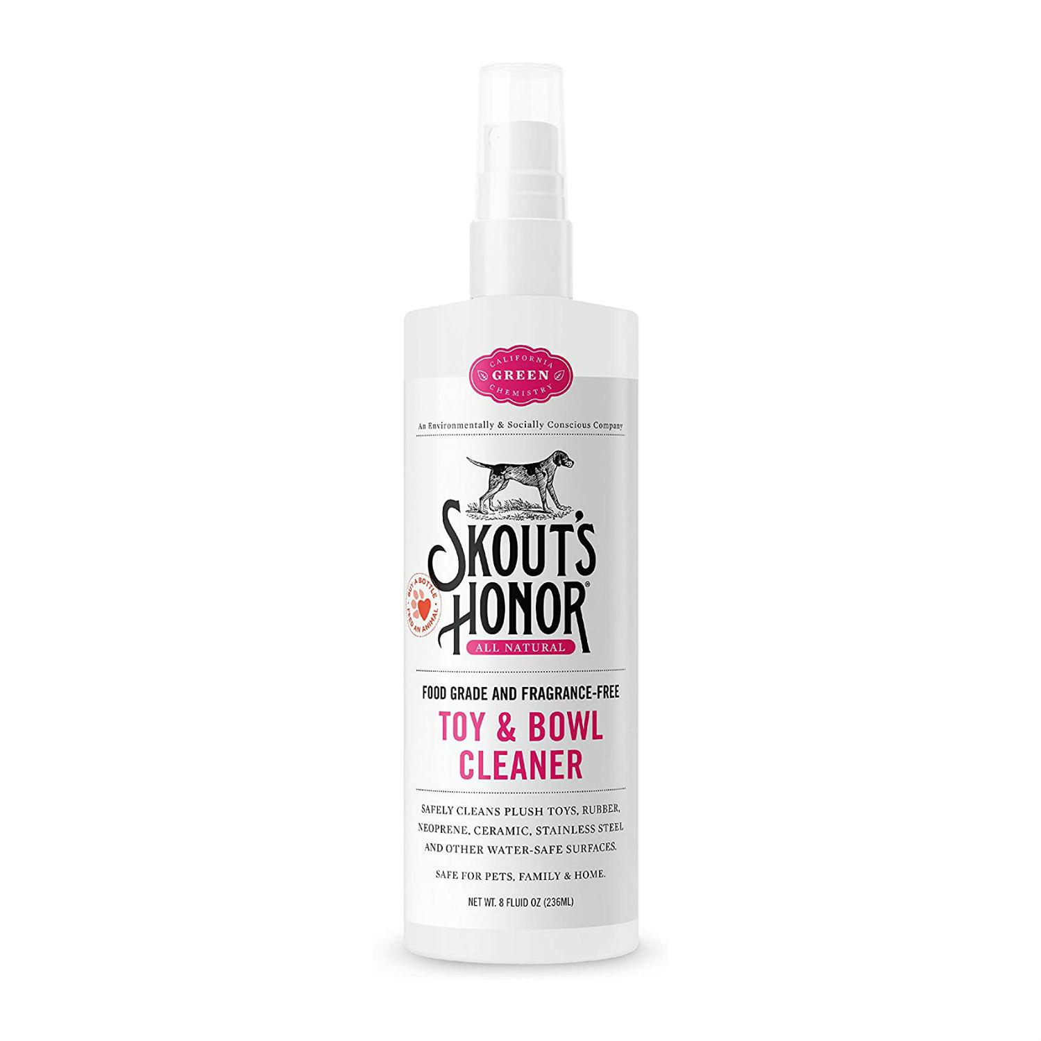 Skout's Honor Dog Toy & Bowl Cleaner