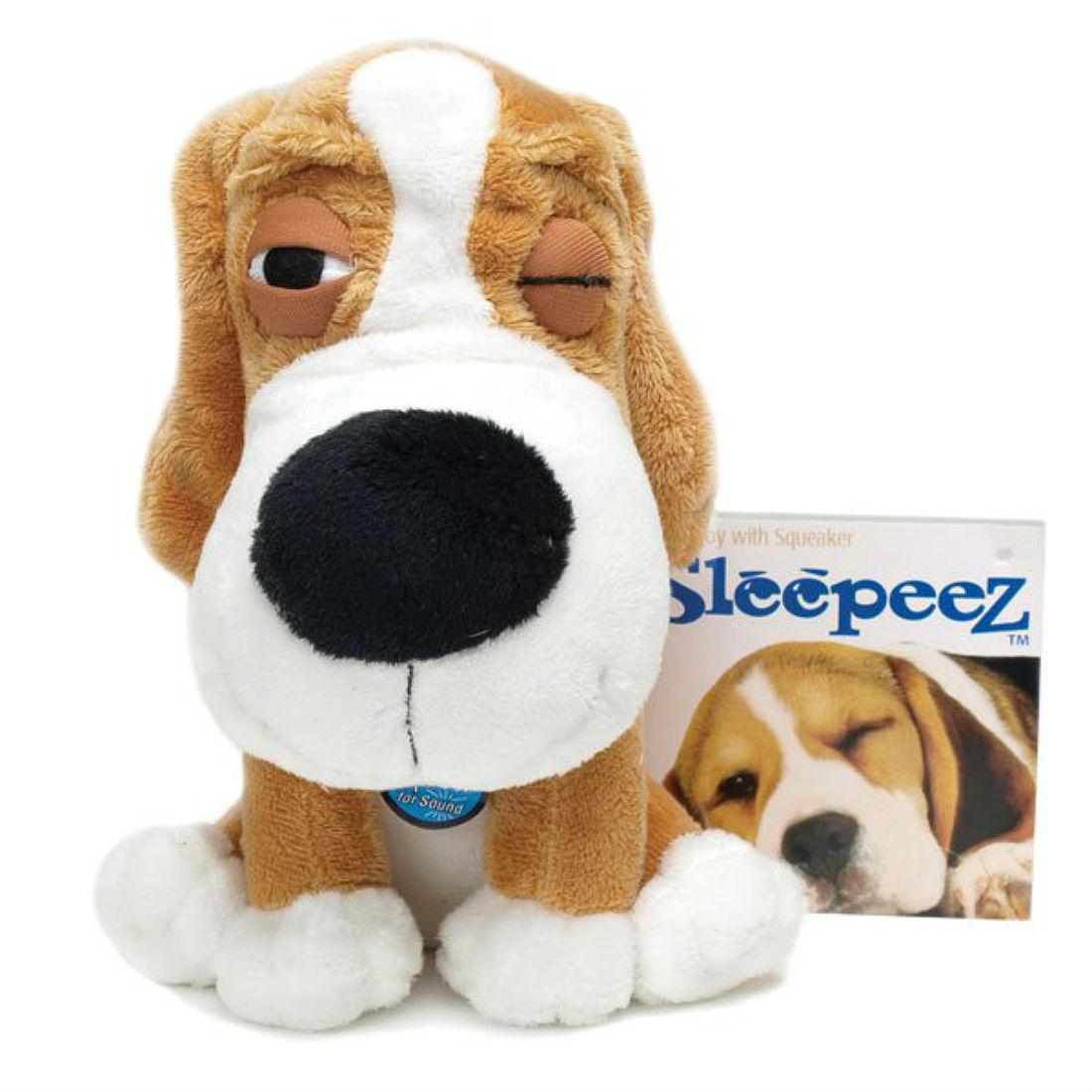 SleepeeZ Plush Dog Toy - Golden