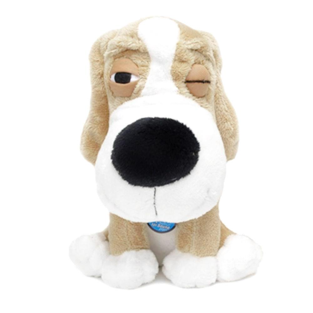 SleepeeZ Plush Dog Toy - Beige Cream