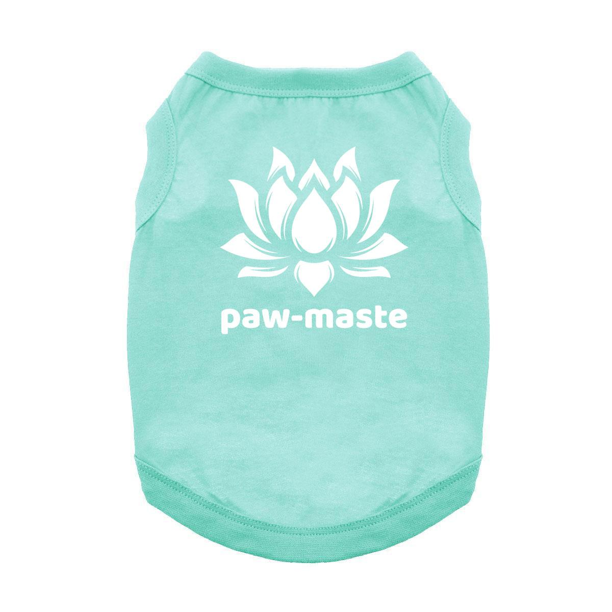 Paw-maste Dog Shirt - Aqua