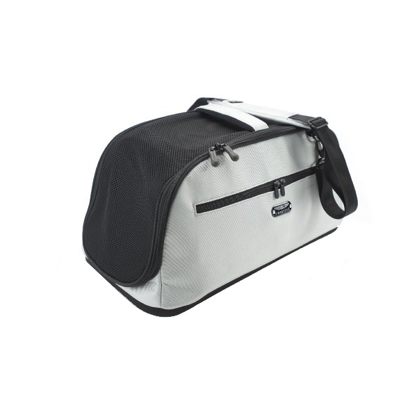Sleepypod Air Travel Pet Carrier Bed - Glacier Silver