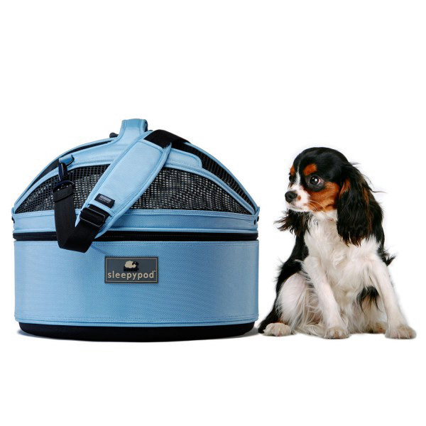 Sleepypod Mobile Pet Carrier Bed - Sky Blue