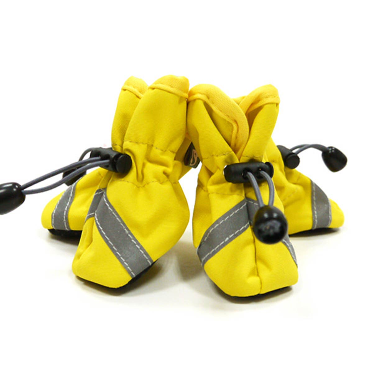 Slip-On Paws Dog Booties by Dogo - Solid Yellow