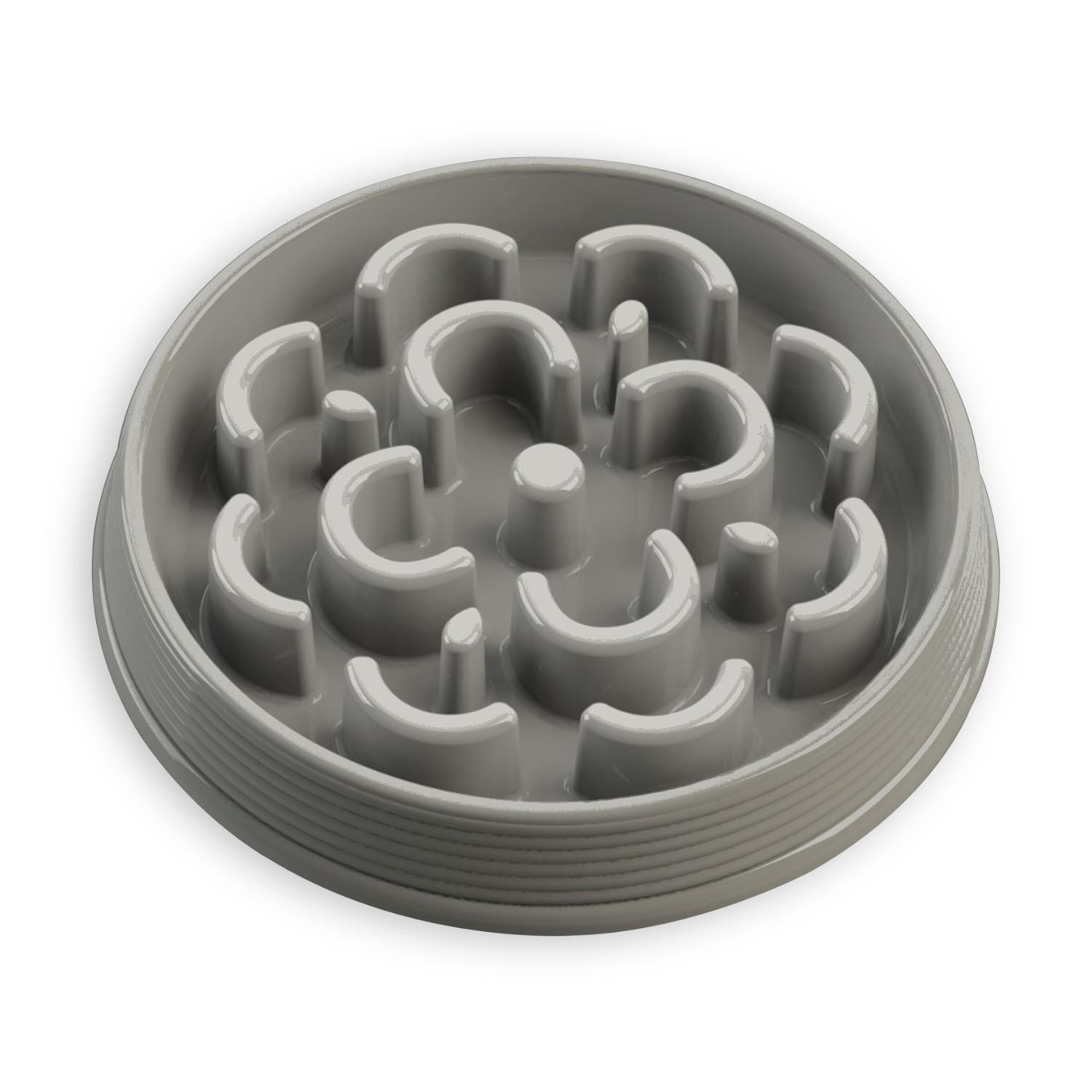 Slow Chow Medallion Feeder by TarHong - Gray