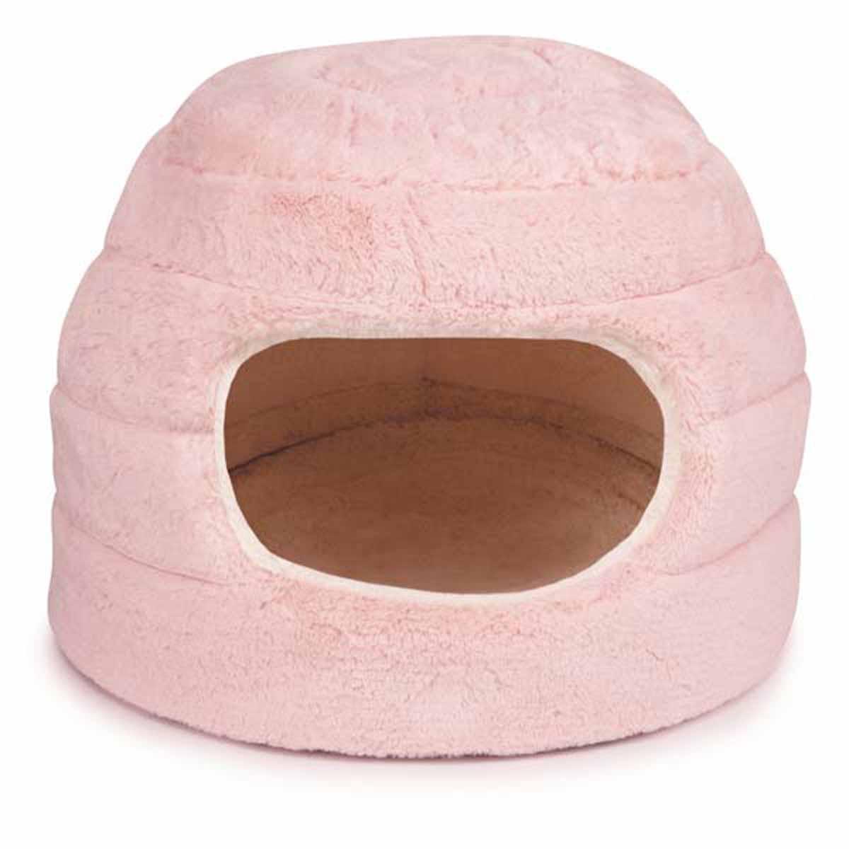 Slumber Pet Cuddler Dog Bed - Pink