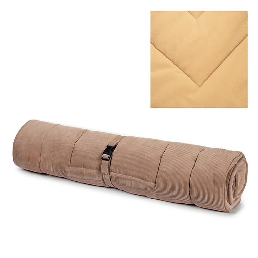 Slumber Pet Reversible Dog Bed - Tan